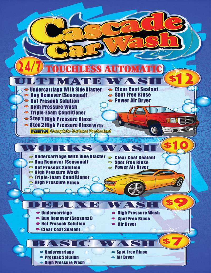 Cascade Car Wash Touchless Automatic System