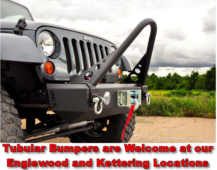 Jeep Tubular bumpers